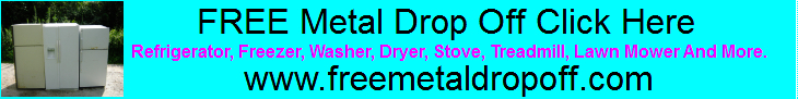 Free Metal Drop Off .Com