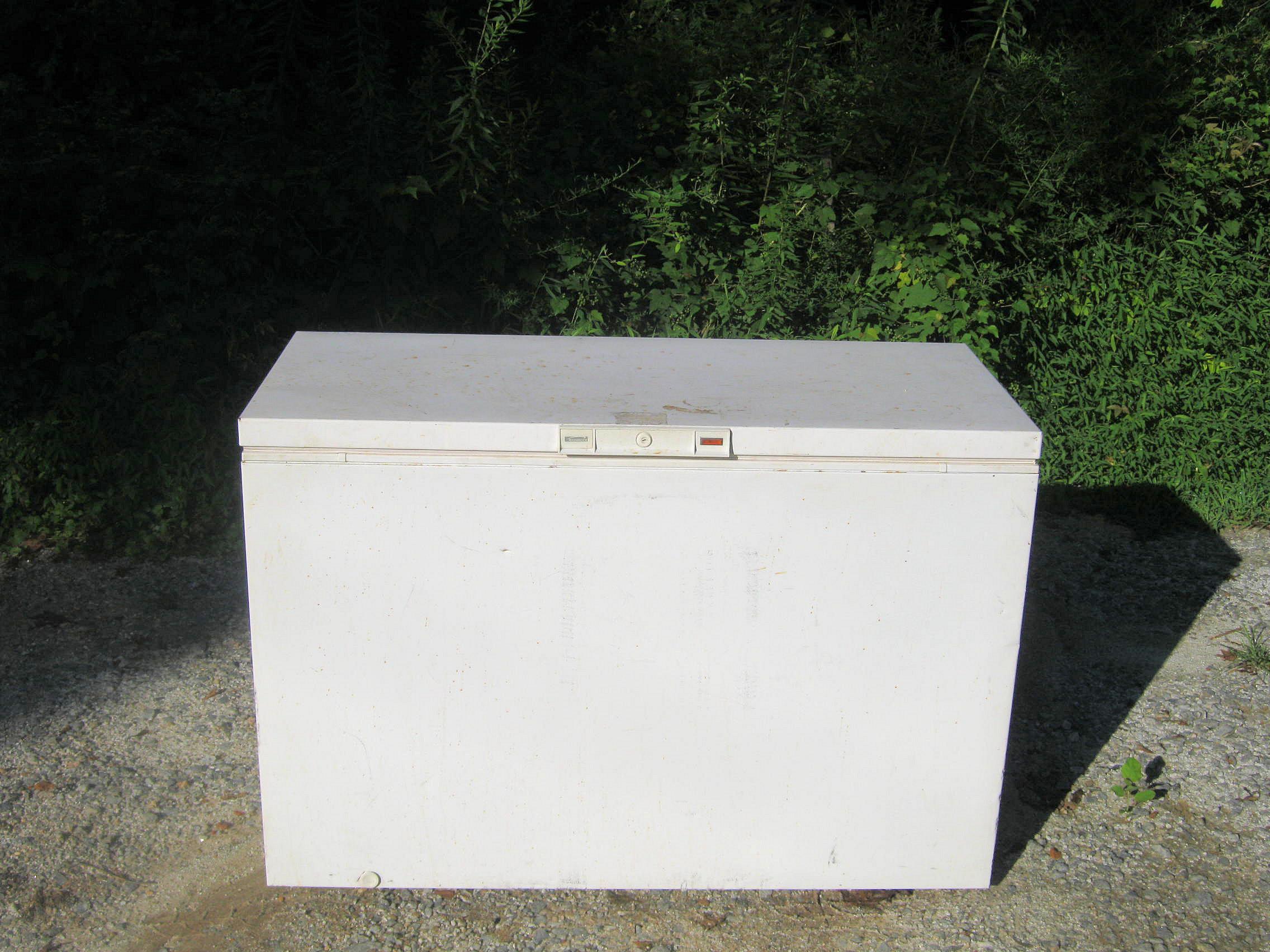 Chest Freezer Removal Atlanta By Boss Haul .Com